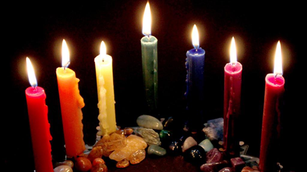 Обряды со свечами