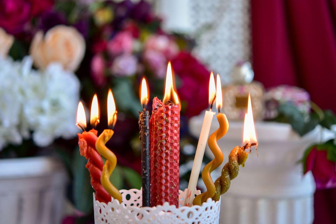 Виды магических свечей